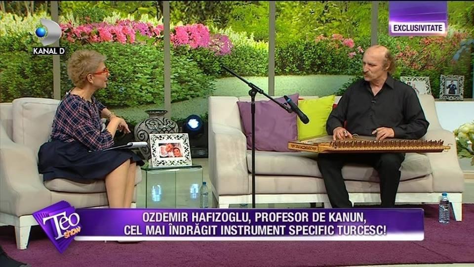 KTÜ Öğretim Üyesi'nden Romanya'da kanun resitali!