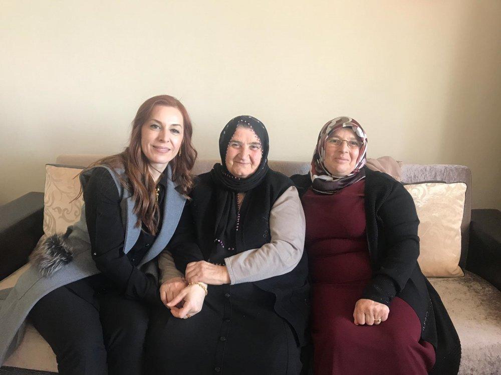 Sevcan Zorluoğlu'ndan eşine destek