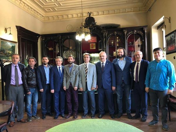 KTÜ Rektörü Baykal'dan TGC'ye ziyaret