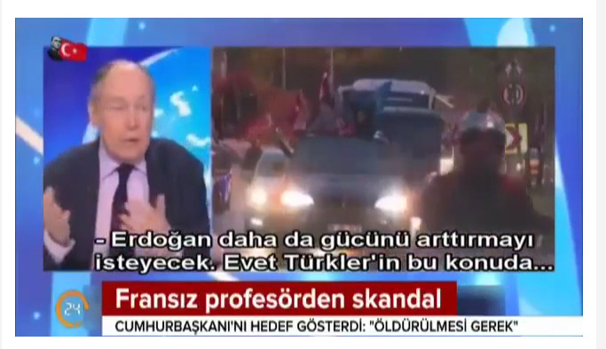 Erdoğan için korkunç sözler: Öldürülmesi lazım! 1
