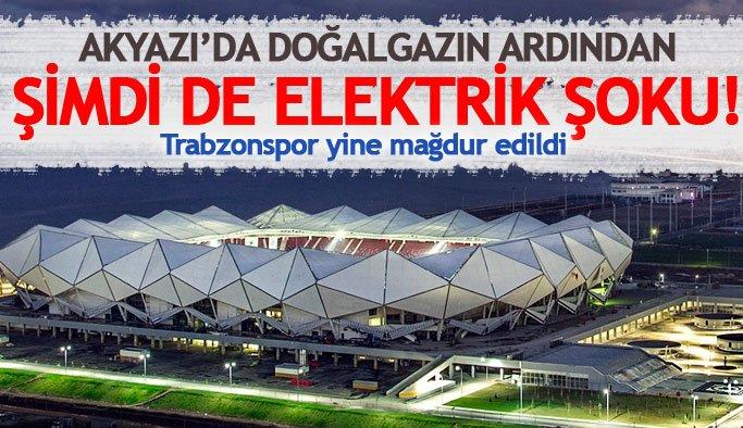 Akyazı Arena'nın kesik olan elektriği geri verildi