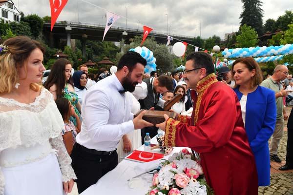 29 farklı ülke vatandaşı Trabzon'da evlendi