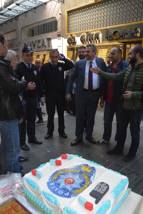 Trabzon'da soygun ihbarına giden polise süpriz