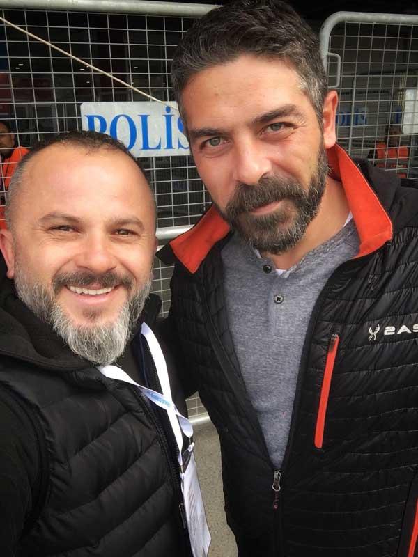 Sen Anlat Karadeniz'in sevilen ismi Trabzonspor maçında