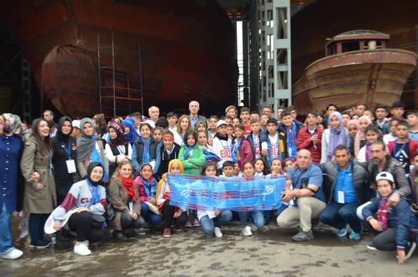 Şanlıurfalı öğrenciler Trabzon'dan mutlu ayrıldı