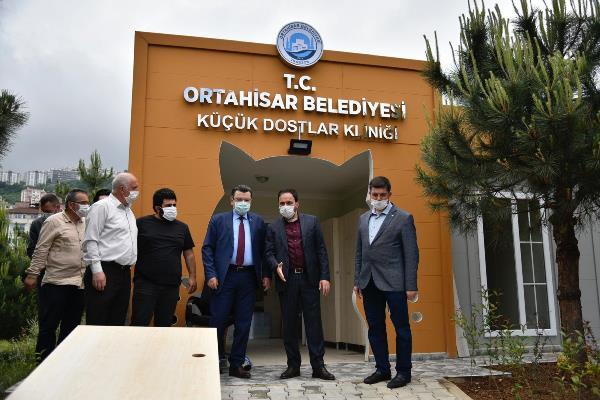 Trabzon'da minik dostlara çok özel klinik
