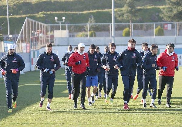 Trabzonspor'da Fenerbahçe maçına hazırlık başladı
