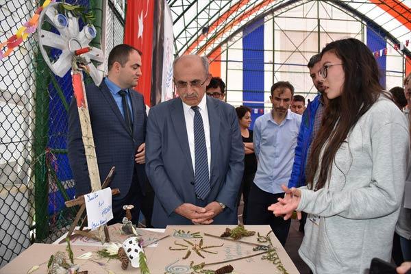 """Trabzon'da """"Enerjimi Doğadan Alıyorum"""" projesi"""