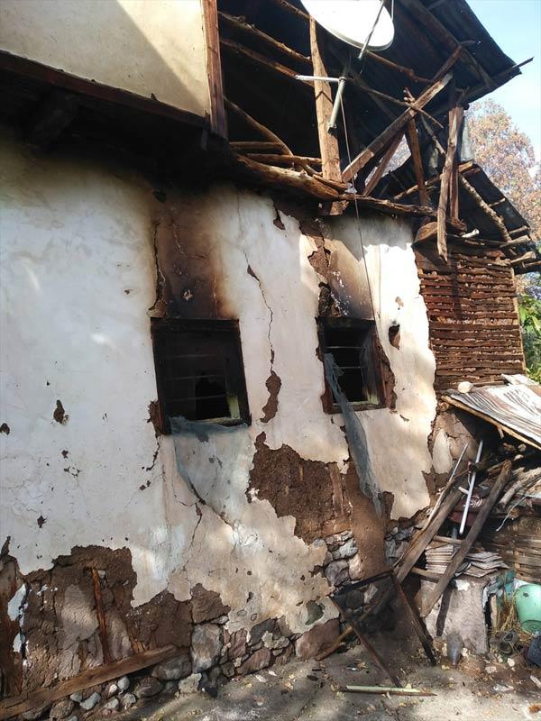 Giresun'da ev yangını: 1 ölü