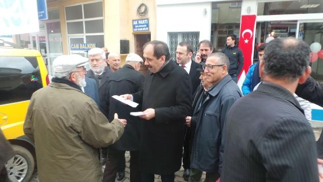 """Balta: """"CHP'nin yalanlarına Ağasar inanmıyor!"""""""