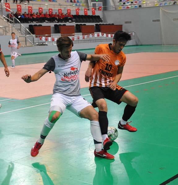 Trabzon'da nefes kesen şampiyona