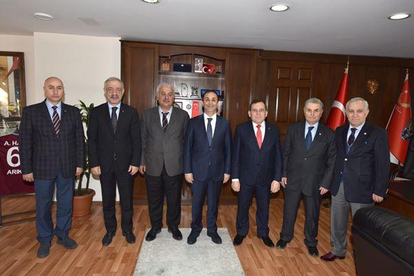 TTSO'dan Emniyet Müdürü Arıkan'a ziyaret