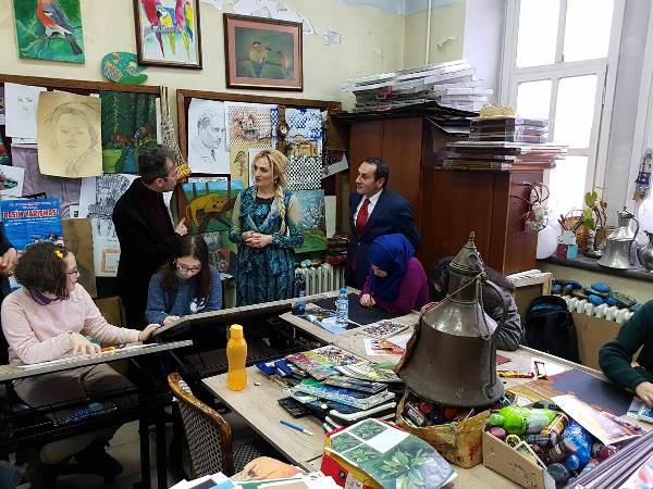 Şengül Yavuz'dan Trabzon Bilim ve Sanat Merkezine ziyeret