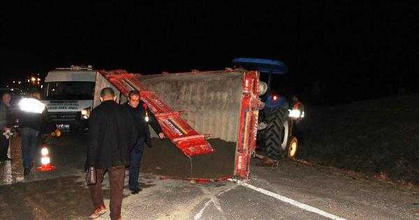 3 araç birbirine girdi: 2 ölü 7 yaralı