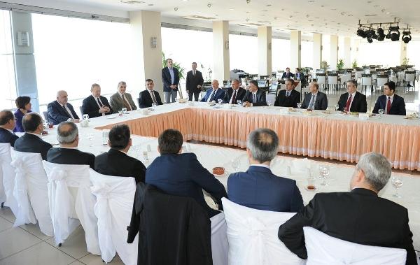 Rektörler ÜNİ-DOKAP için Trabzon'da toplandı