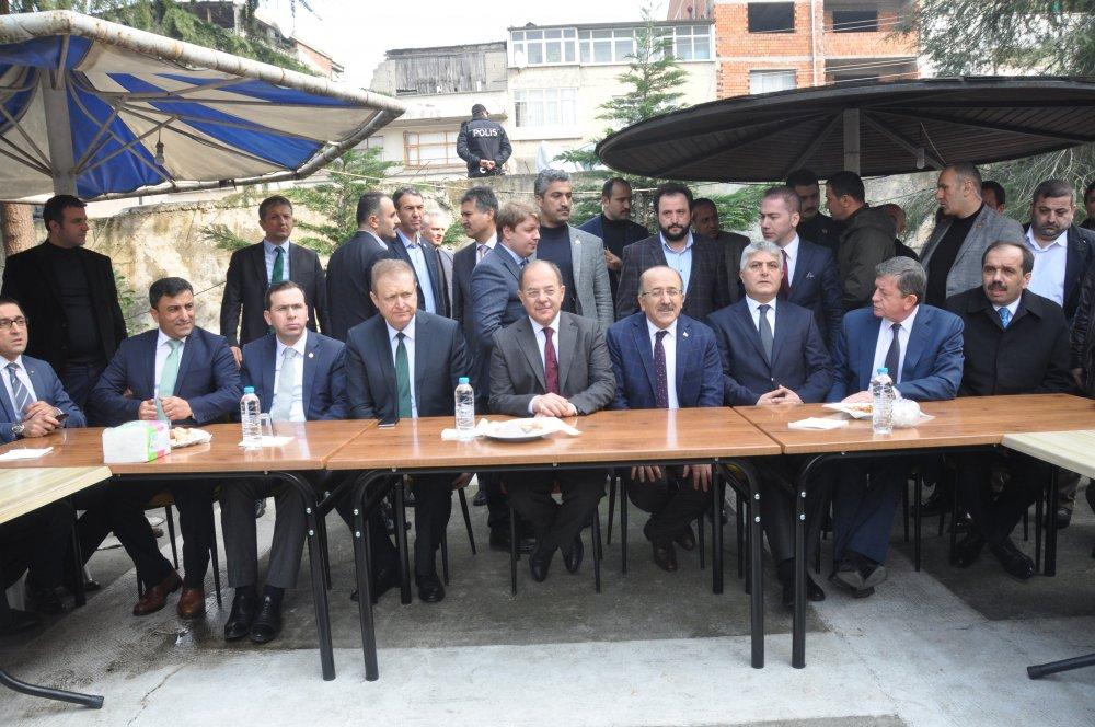 Bakan Akdağ, Trabzon'dan Almanya'ya seslendi