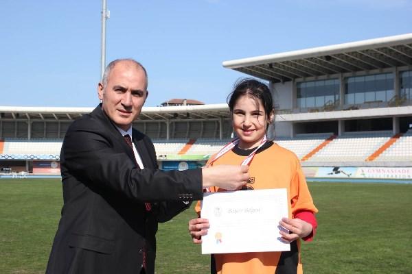 Trabzon'un özel çocukları madalya için yarıştı