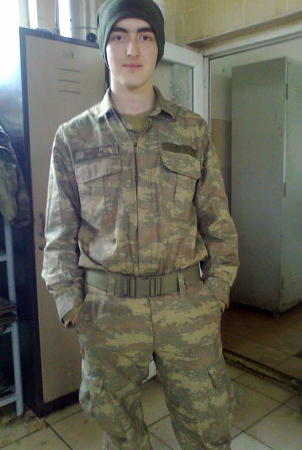 Askerden gelen gencin şüpheli ölümü