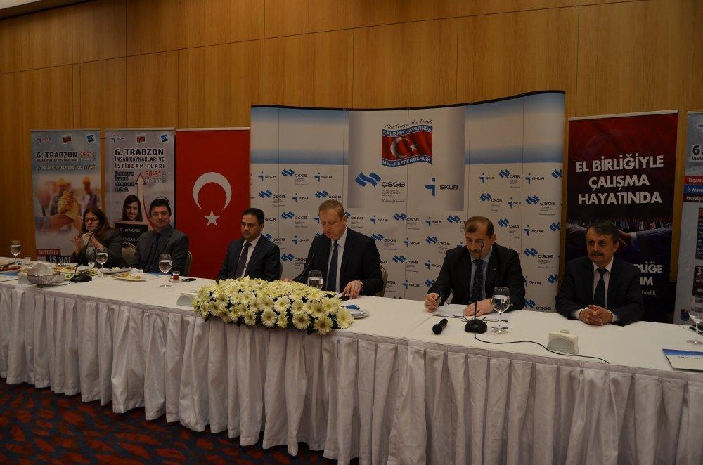 Trabzon'da 2 Bin 665 kişiye iş imkanı