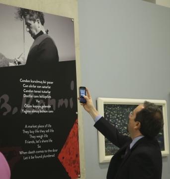 Bedri Rahmi Eyüboğlu'nun sergisine rekor ziyaretçi