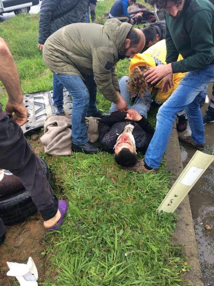 Rize'de kaza: 1 ölü, 6 yaralı