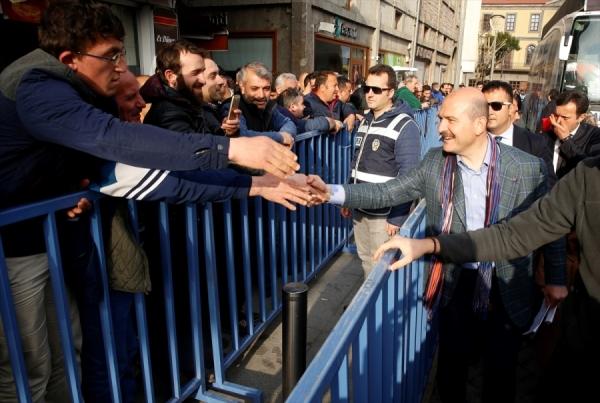 """Soylu: """"Trabzon Tarih yazsın istiyoruz"""""""