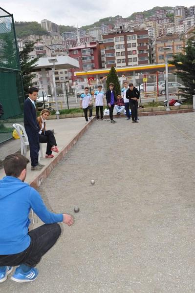Trabzon'da yeni favori Bocce ve Dart
