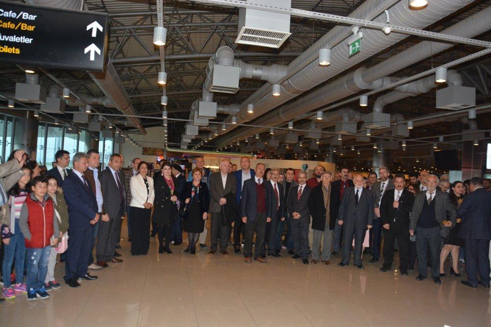 Trabzon Havalimanı ilk kez bir etkinliğe ev sahipliği yaptı