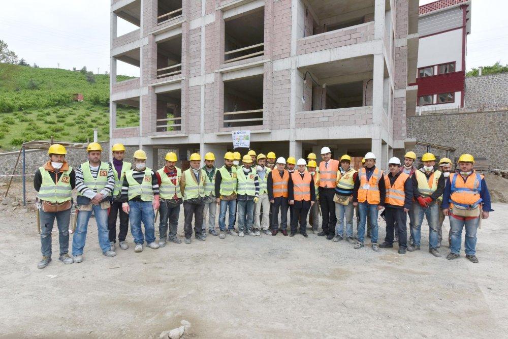 Trabzon'da 209 kişiye eğitim verildi