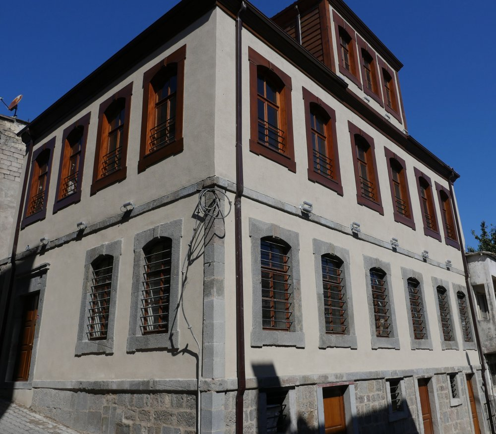 Trabzon'da tarihi konak restore edildi