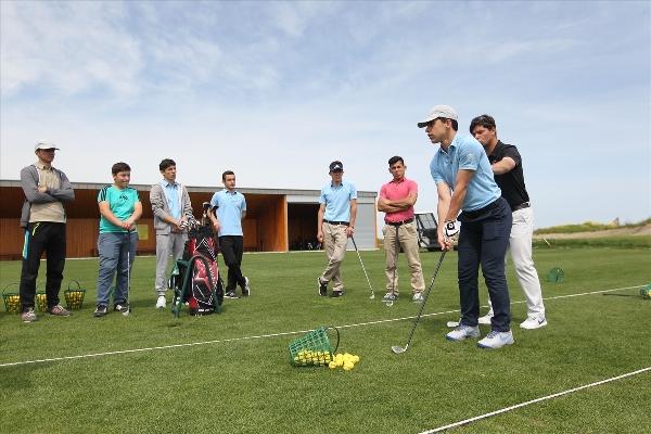 İşitme engelliler golfle tanıştı 3