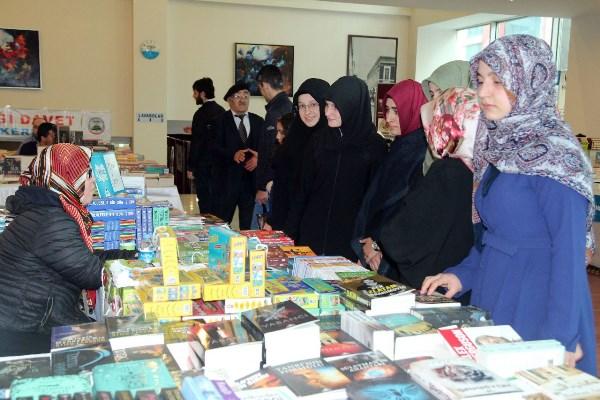 Trabzon'da Kitap fuarı sona erdi