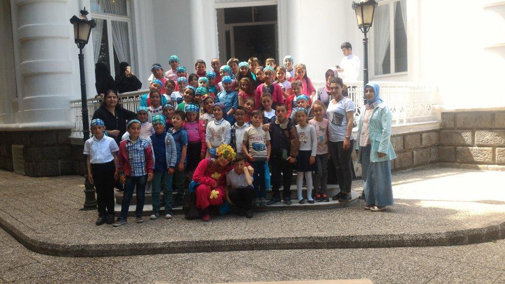 Trabzon'da Avrupa Günü sayesinde ilk kez şehre geldiler