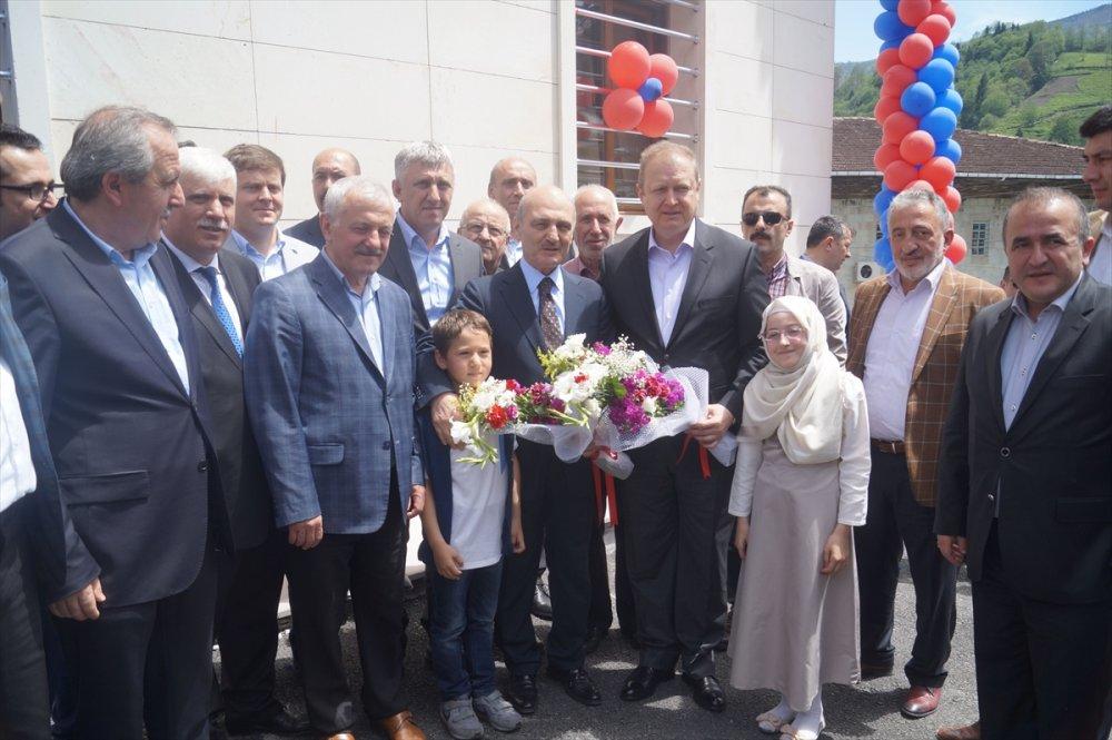 Gürpınar Kur'an Kursu törenle açıldı