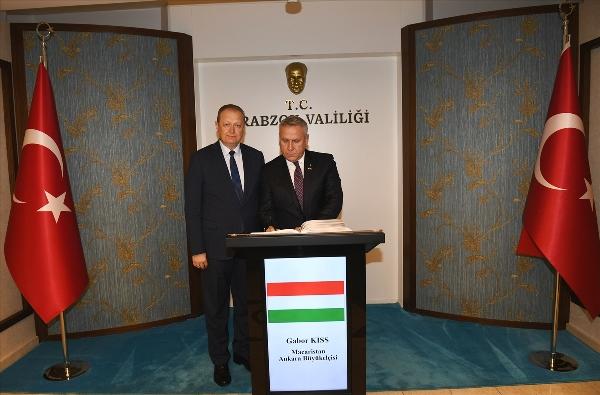 Macaristan Trabzon'da fahri Konsolosluk açacak