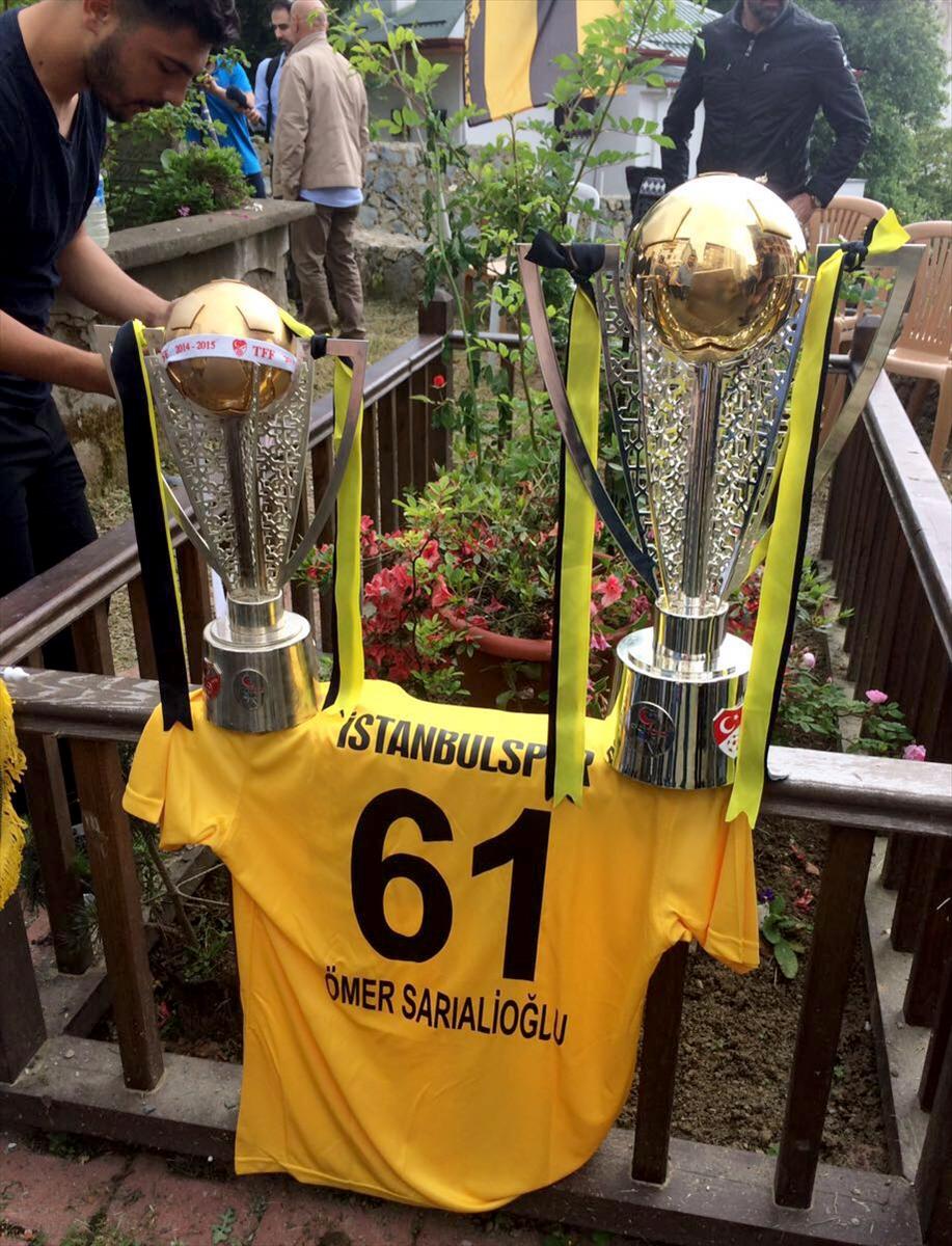 Şampiyonluk Kupasını alıp Trabzon'a geldiler