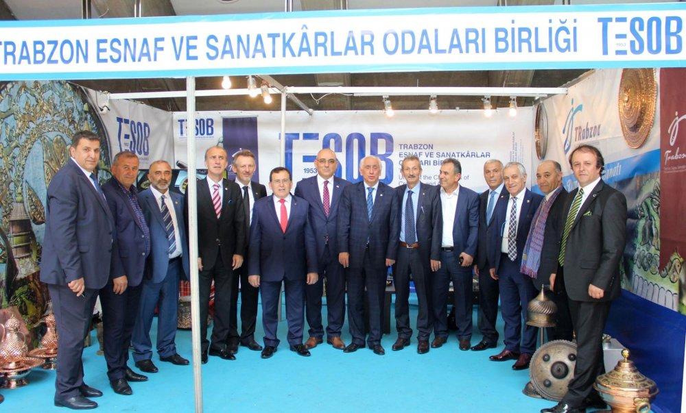 Trabzon bakırcılığı Ankara'da!
