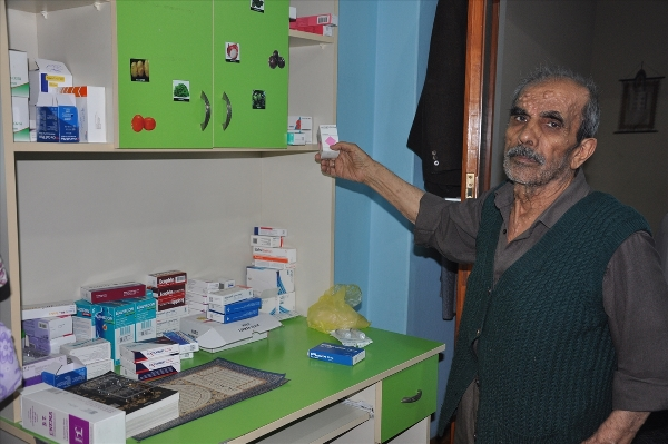 Trabzon 40 yıldır eşinin gözü oluyor