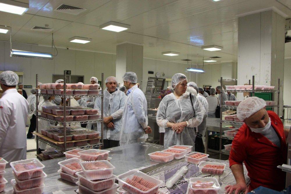 AB Elçileri Trabzon'daki tesisi gezdi