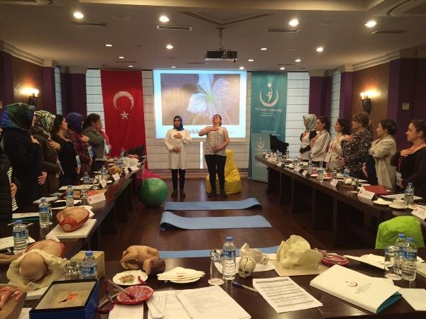 Trabzon'da ebelere eğitim