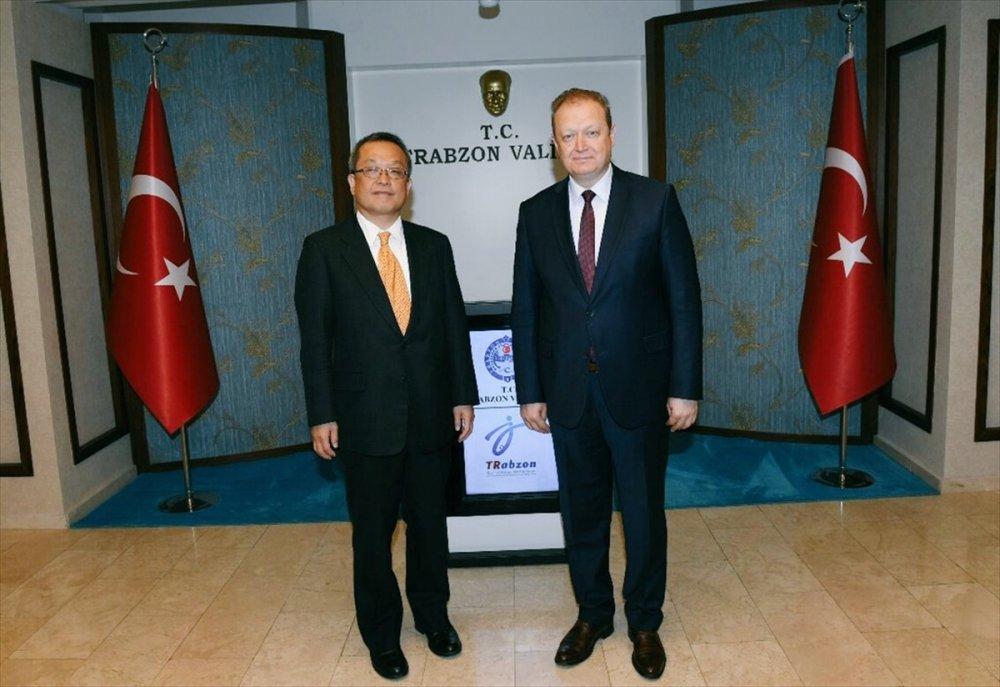 Japon Müsteşar Nakamura Trabzon'da
