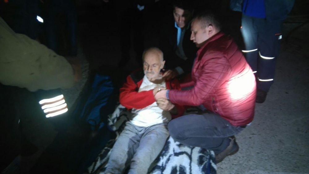 Ormanda kaybolan parkinson hastası bulundu