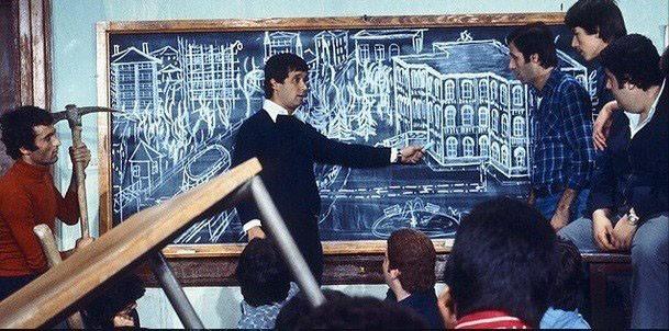 Hababam Sınıfındaki kaçış planını bakın kim çizdi