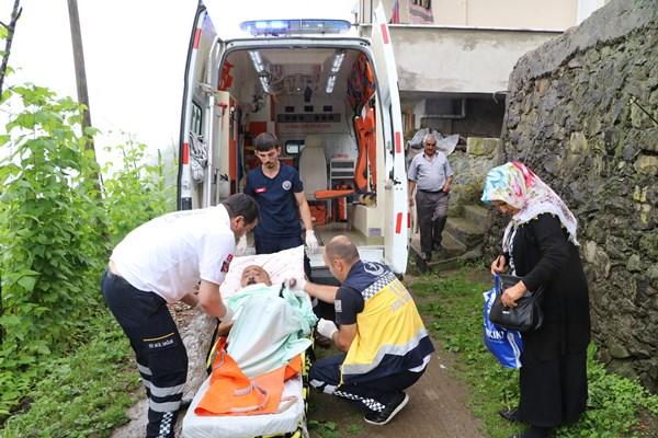 Rize'de diyaliz hastası için seferberlik