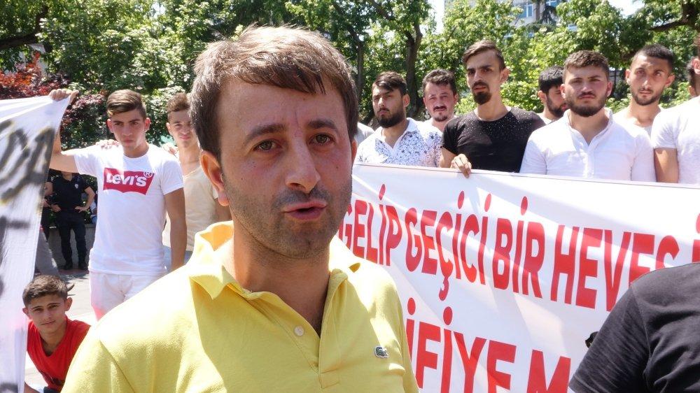 Trabzon'da Modifiye tutkunlarının ceza protestosu