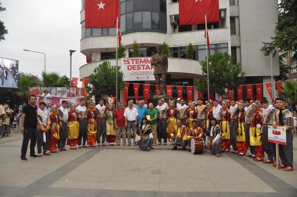 Trabzon'da Festival renkli görüntülere sahne oluyor