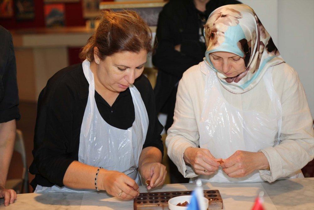 Karadenizli kadınlar çikolatanın başkentinde eğitim alıyor