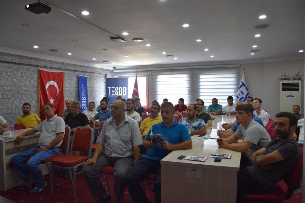 Trabzon'da şoförlere iletişim eğitimi sürüyor