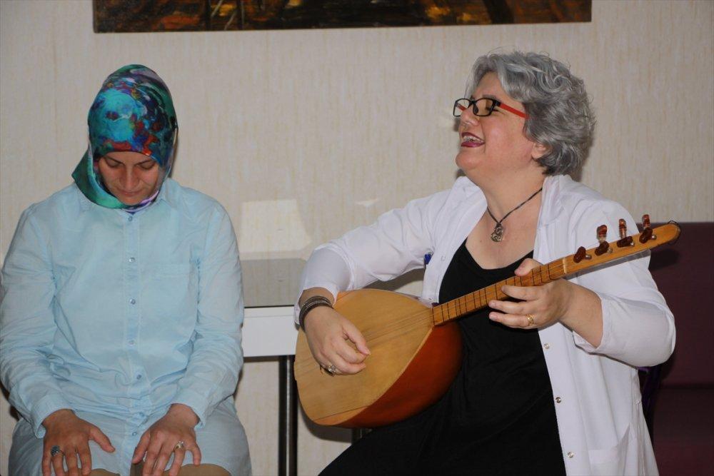 Trabzon'da sazlı sözlü tedavi