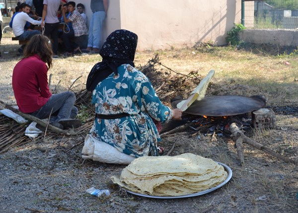 Doğulu fındık işçileri Karadeniz'de